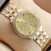 Женские Часы Michael Kors Brilliant Big Gold/Gold