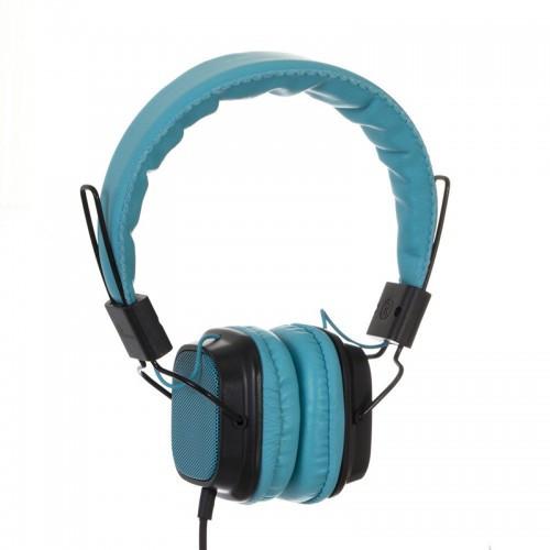 Наушники Sonic Sound E168/mp3 Голубые (М1)