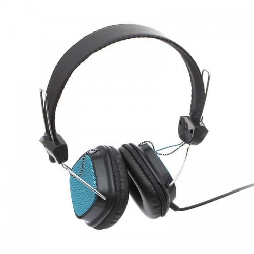 Наушники Sonic Sound E68A/mp3 Голубые (М1)