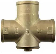 """Трехходовой смесительный клапан Regulus TSV6B 55°C DN40 1 1/2"""""""