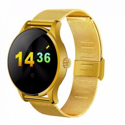 Умные Смарт Часы Uwatch K88H Золото Сталь