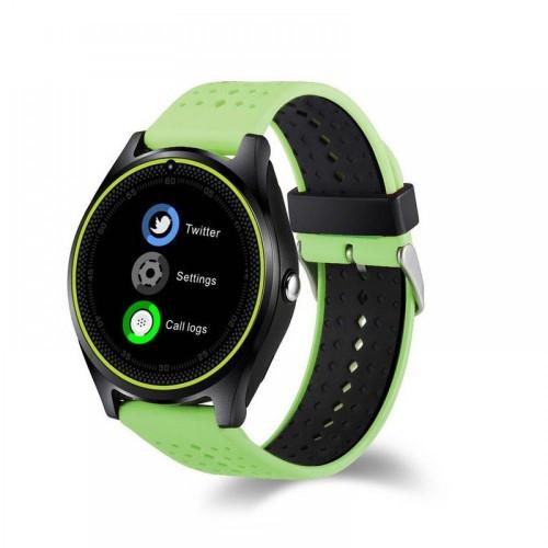 Умные Часы Smart V9 Green-Black