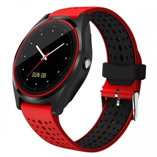 Умные Часы Smart V9 С Пульсометром Red
