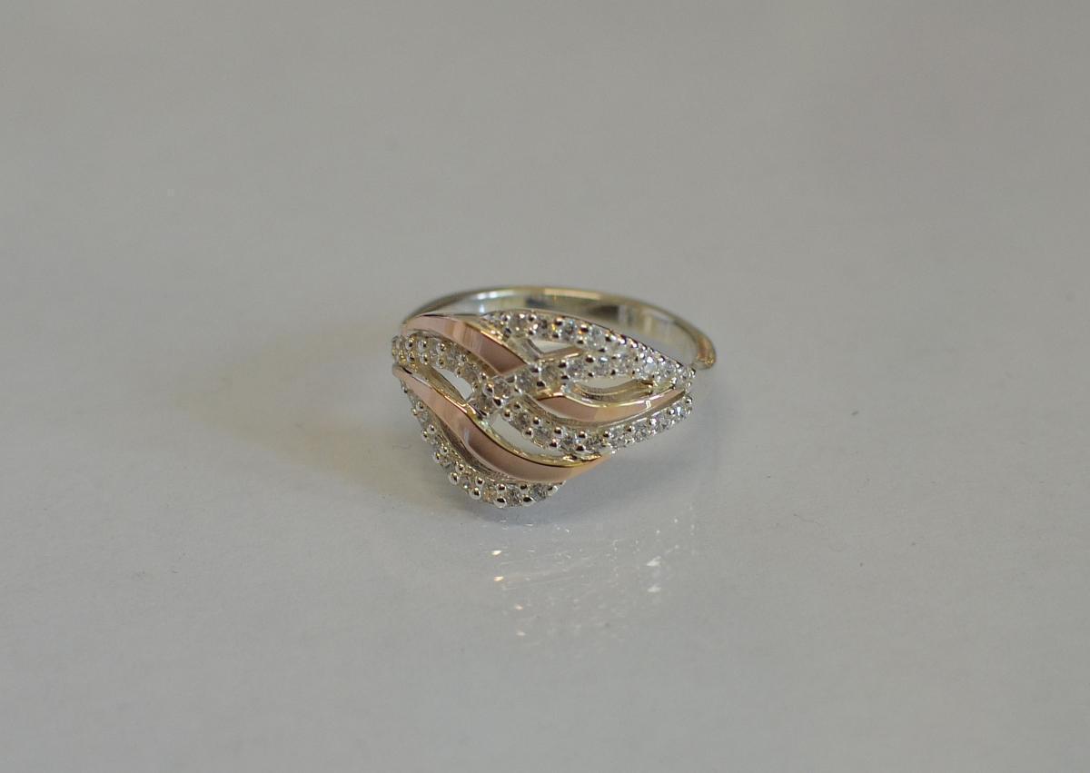 Кольцо из серебра 077к 15