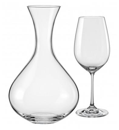 Набор для вина 7 предметов Viola Bohemia 31AA8/1500/7, фото 2