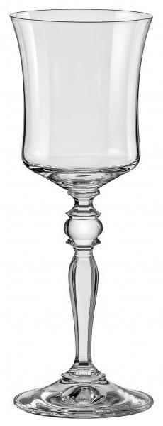 Набор бокалов для вина 185 мл 6 шт Grace Bohemia 40792/185