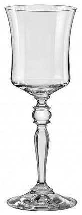 Набор бокалов для вина 185 мл 6 шт Grace Bohemia 40792/185, фото 2