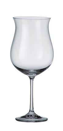 Набор бокалов для вина 490 мл 6 шт Ellen Bohemia 1SD21/00000/490, фото 2