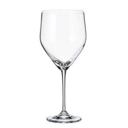Набор бокалов для вина 680 мл 6 шт Stella Sitta Bohemia 1SF60/680, фото 2