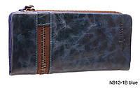 Кошелек  Nivacott N913-1B blue, фото 1