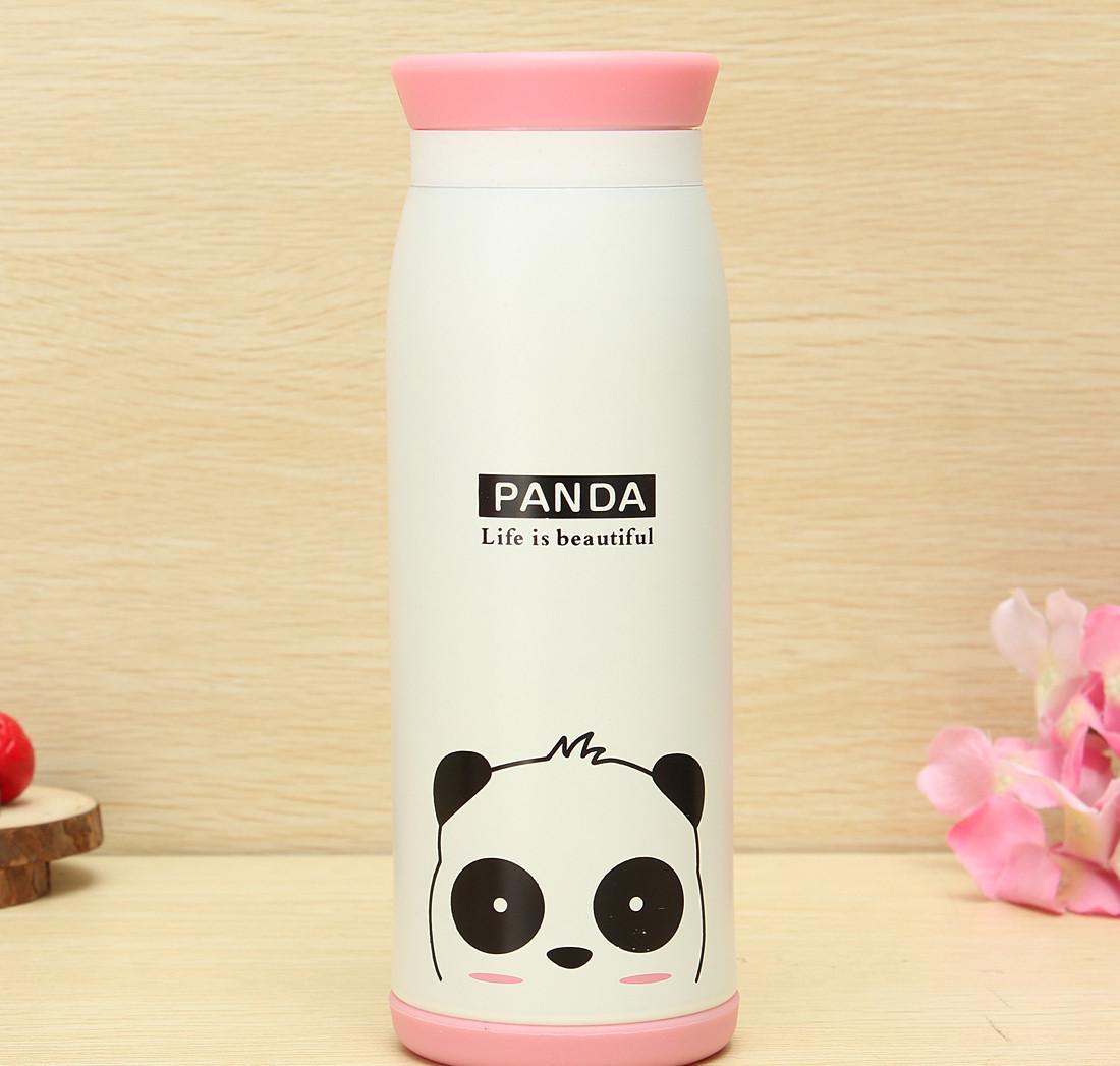 Термос 500 мл Panda Henks TD-305-white