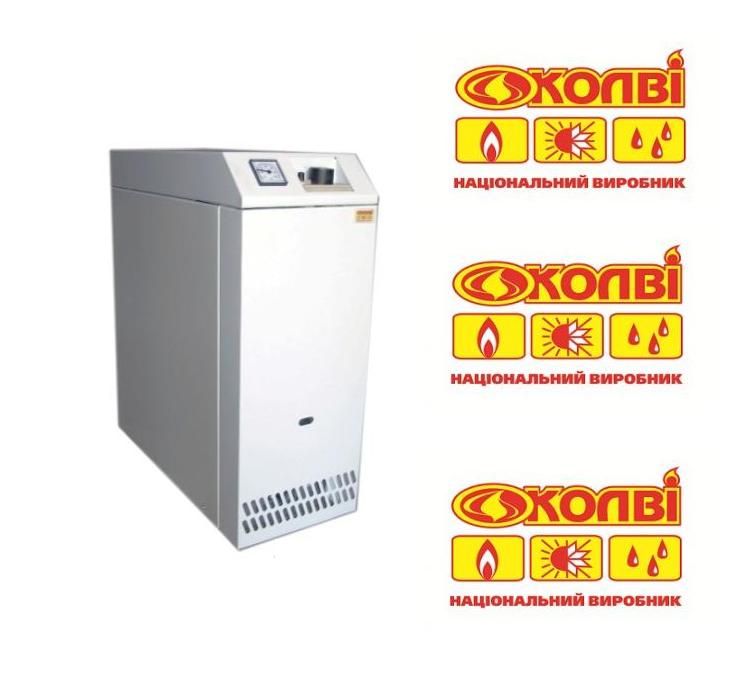 Котёл газовый напольный Колви-Евротерм КT 16 TВ(дым) двухконтурный