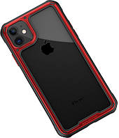 Чехол-накладка Ipaky Mufull Series TPU+PC Case Apple iPhone 11 Red #I/S