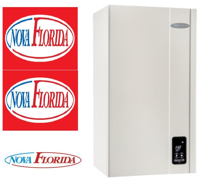 Котёл газовый настенный Nova Florida Virgo CTN 28 AF Дым