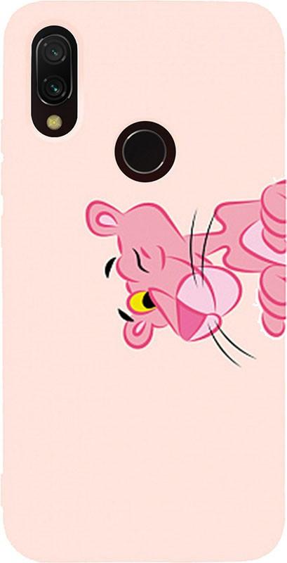 Чохол-накладка TOTO Matt TPU 2mm Print Case Xiaomi Redmi 7 #54 Pink Pantera pink Sand #I/S