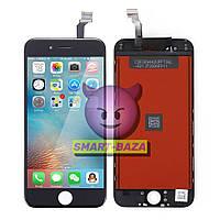 Дисплей iPhone 6 черный | LCD экран, тачскрин, стекло | Модуль в сборе