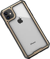 Чехол-накладка Ipaky Mufull Series TPU+PC Case Apple iPhone 11 Gold #I/S