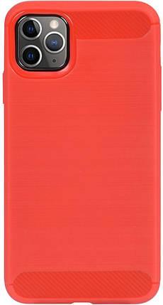 Чехол-накладка Ipaky Slim Anti-Fingerprint TPU Case Apple iPhone 11 Pro Red #I/S, фото 2