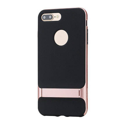 Чохол-накладка Rock TPU+PC Case Royce Series with Kickstand iPhone 7 Plus Rose Gold #I/S, фото 2