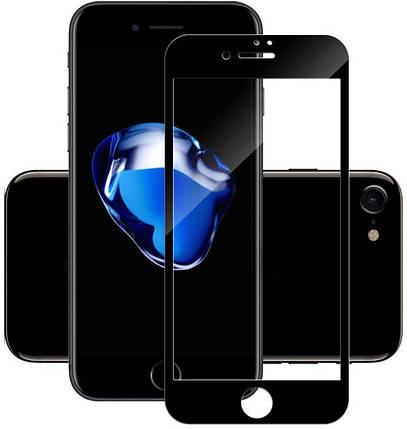 Захисне скло TOTO 5D Full Cover Tempered Glass iPhone 7 Plus/8 Plus Black #I/S, фото 2