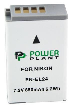 Аккумулятор PowerPlant Nikon EN-EL24 850mAh, фото 2