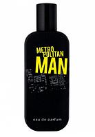 Парфюм мужской Metropolitan man, сочетание цитрусовых нот бергамота и шоколадного оттенка.