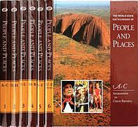 6-ти томна дитяча енциклопедія англійською. The World Book Encyclopedia of People and Places