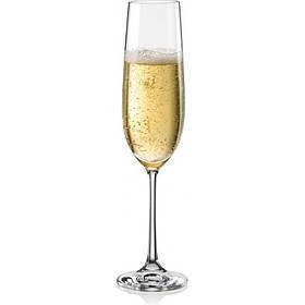 Набор бокалов Bohemia Viola 190 мл для шампанского 6 шт 40729 190 BOH