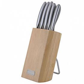 Набор ножей Kamille 6 предметов из нержавеющей стали КМ-5133
