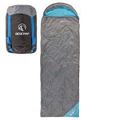 Спальник для туризма, мешок туристический REDCAMP 1,5кг, 210*75cm, 300гр/м2
