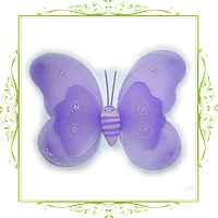 Крылья бабочки двойные