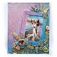 Детская фоторамка «Маленькая принцесса» памятный подарок на рождение девочки, крестины, первый день рождения
