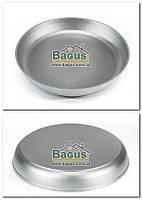 Форма для выпечки алюминиевая 36см (сковорода без ручек, противень круглый) Пролис (П-360), фото 1