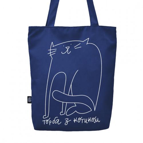 Эко сумка с Котиком - Сумка без коробки