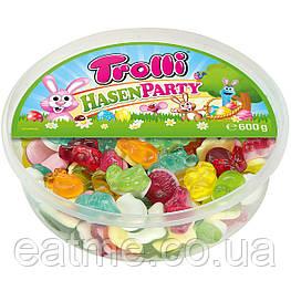 Trolli Hasen Party Пасхальная серия желейных конфет с фруктовыми вкусами