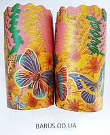 Формы для выпечки бумажные 130*85 Бабочка