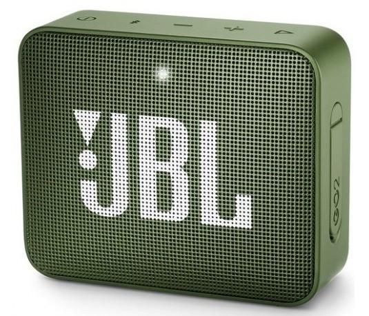 Акустическая система JBL GO 2 Moss Green (JBLGO2GRN)