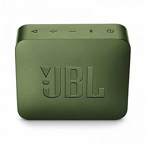 Акустическая система JBL GO 2 Moss Green (JBLGO2GRN), фото 3