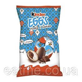 Kinder eggs Milch & Kakao Вафельные яйца с шоколадно-молочной начинкой  в молочном шоколаде