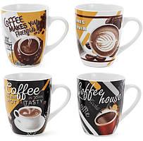 "Кружка фарфоровая ""Coffee in the town"" 350мл"