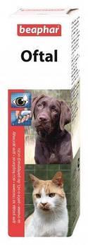 Oftal средство от появления слезных пятен и для очистки глаз у домашних животных 50 м