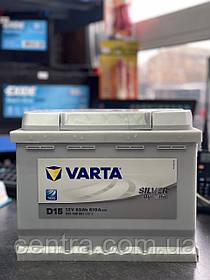 Автомобильный аккумулятор VARTA 6СТ-63 Silver Dynamic D15 (563400061)