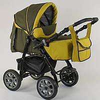 Коляска для детей с большими колесами Viki 86-01-02