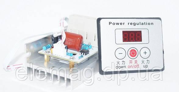 10000 Вт Цифровой регулятор напряжения с цифровым дисплеем и выключателем