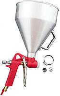 Пневмопистолет для нанесения цемента Housetools - металл бак 6 л, d=4, 6, 8 мм