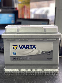 Автомобильный аккумулятор VARTA 6СТ-63 Silver Dynamic D39 (563401061)
