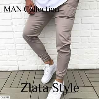 Мужские штаны коттоновые. Размеры 44-46, 48-50, 52-54. Цвета мокко, шоколад, чёрный