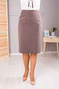 Женская юбка Лейла беж №2