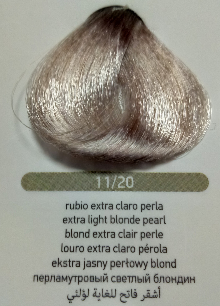 Купить Крем-краска для волос Erayba Equilibrium Hair Color Cream 120 мл 11/20, перламутровый светлый блондин