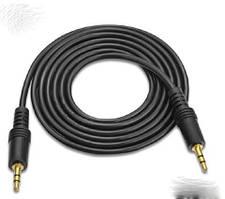 Аудио кабель AUX 3.5мм TRS mini-jack папа - папа 1.4м